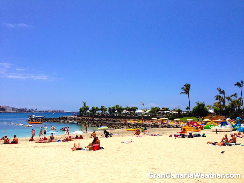Gran Canaria Weather May Anfi Beach 2014