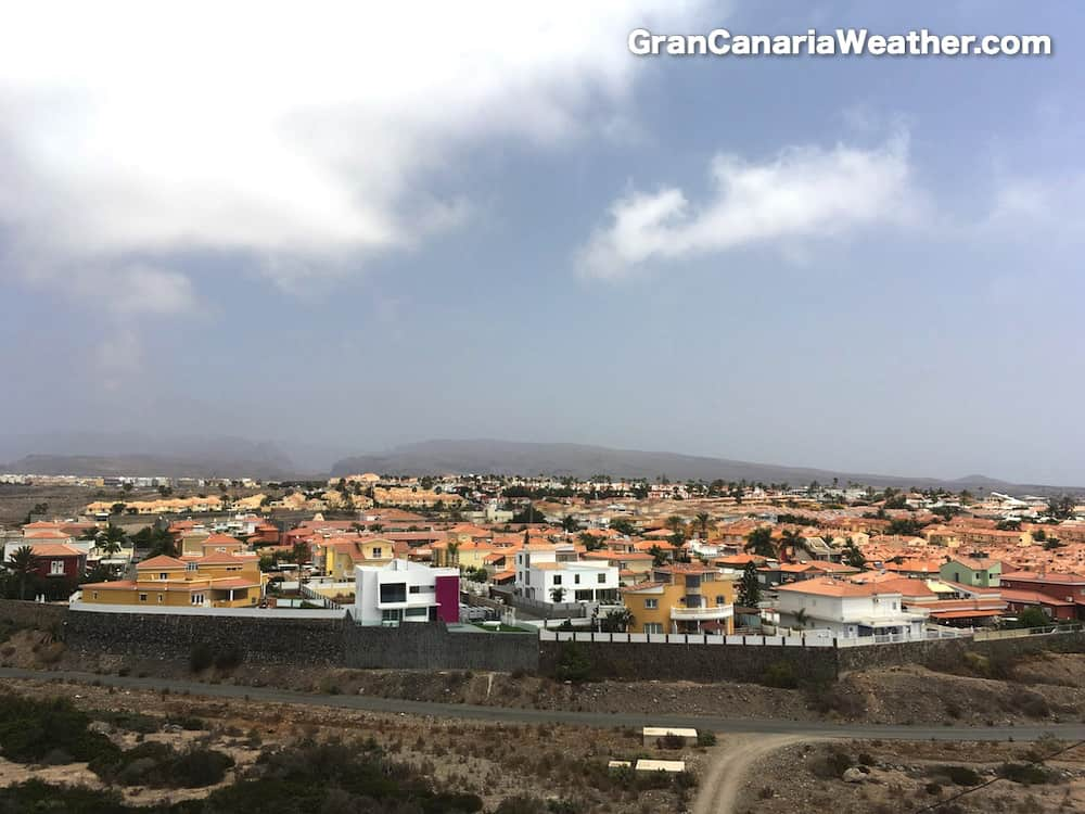 Gran Canaria Weather August Sonneland 2016