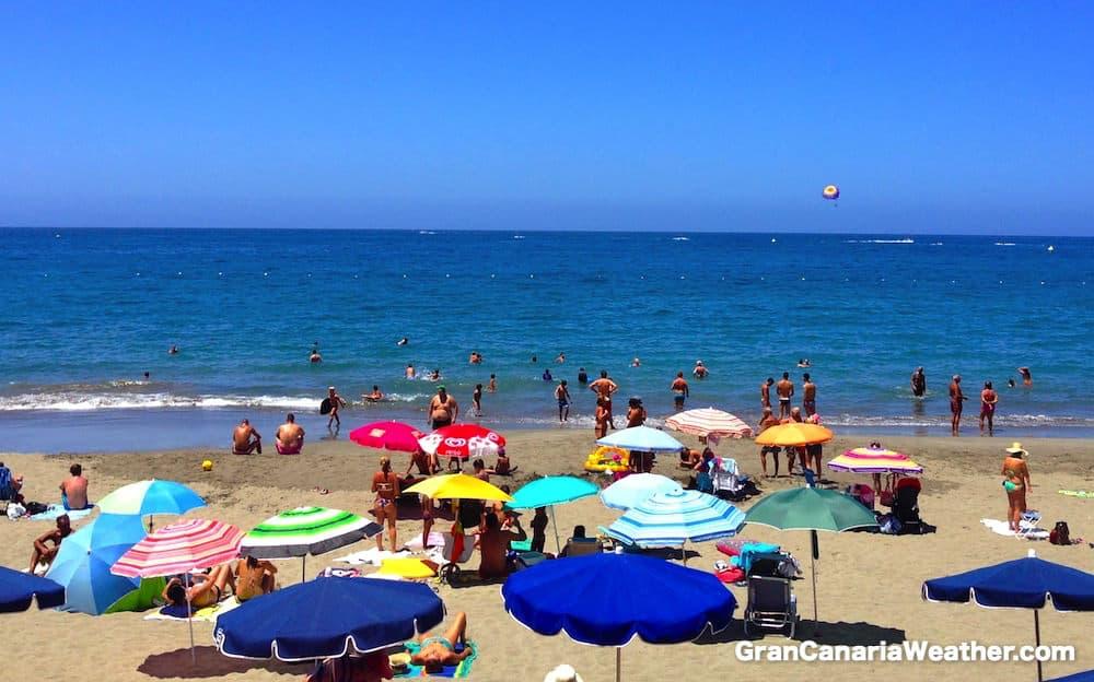 Gran Canaria Weather July Patalavaca Beach 2015