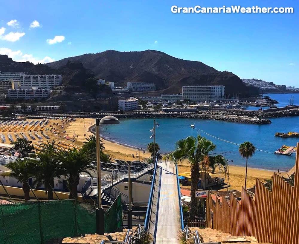 Gran Canaria Weather July Puerto Rico Beach 2018