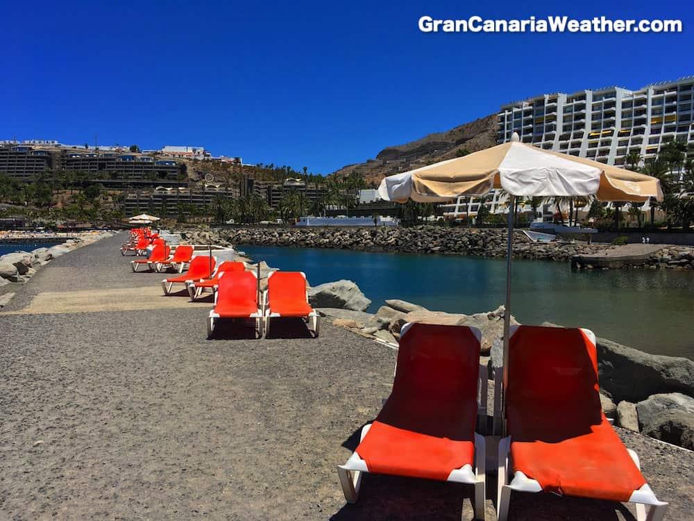 Gran Canaria Weather June Aquamarina Beach 2016