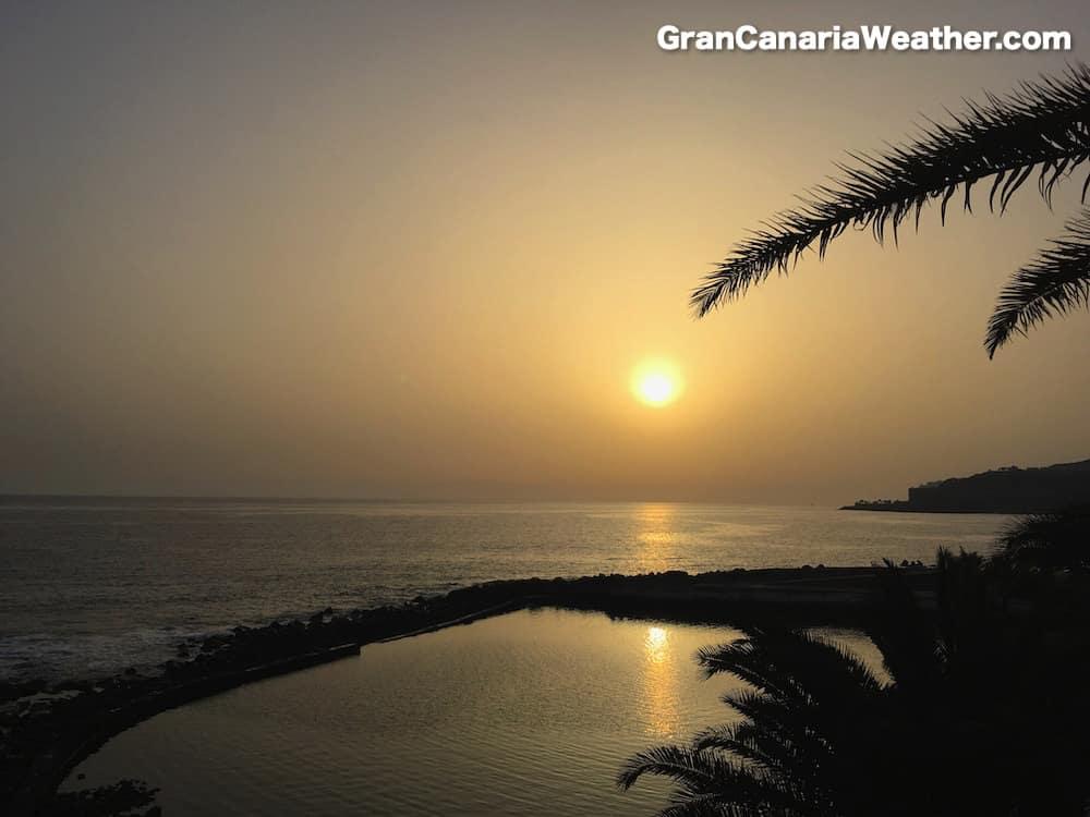 Gran Canaria Weather June Arguineguin Calima 2016