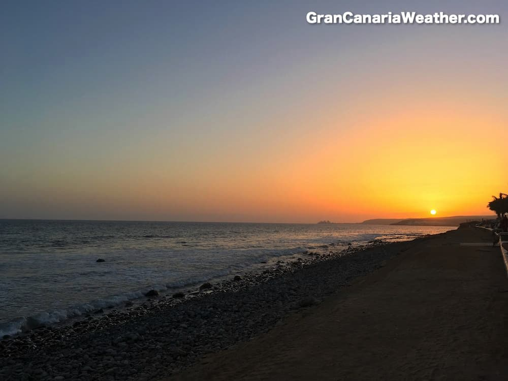 Gran Canaria Weather June Meloneras 2016