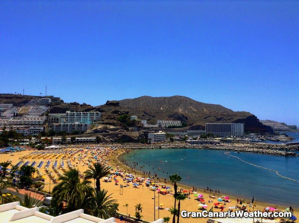 Gran Canaria Weather June Puerto Rico Beach 2013
