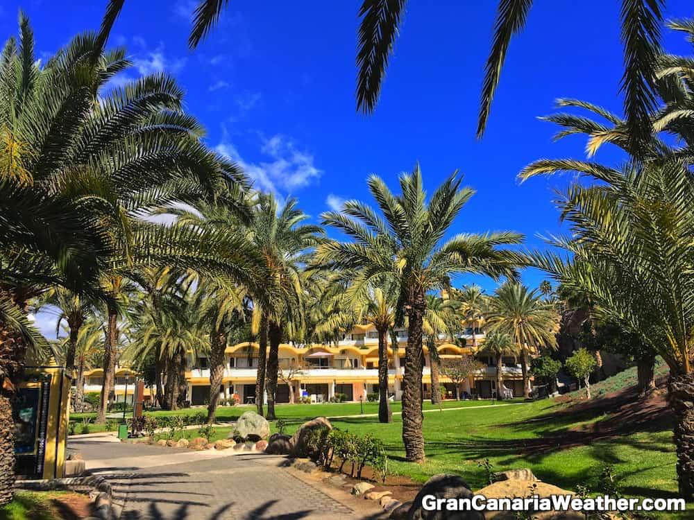 Gran Canaria Weather February Bahia Feliz 2017
