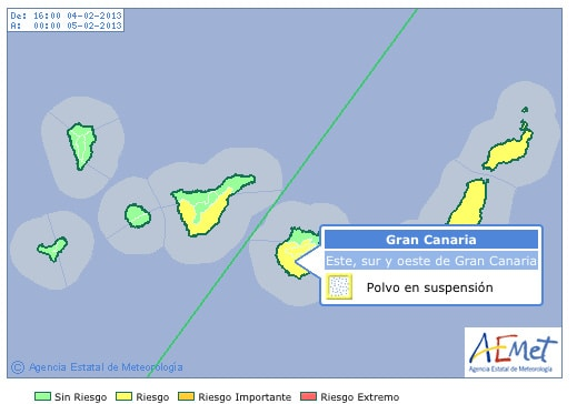 Gran Canaria Weather February Calima 2013