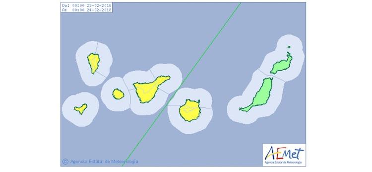 Gran Canaria Weather Warning February Rain 2018