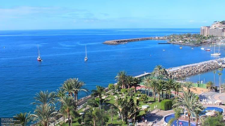 Gran Canaria Weather October Radisson Blu Arguineguin 2018