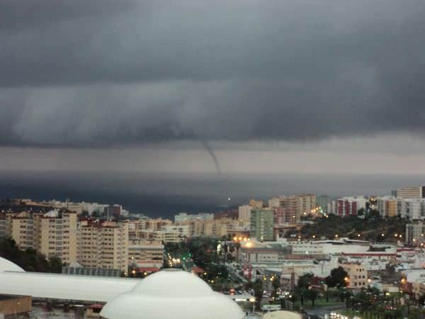 Gran Canaria Weather October Waterspout 2010