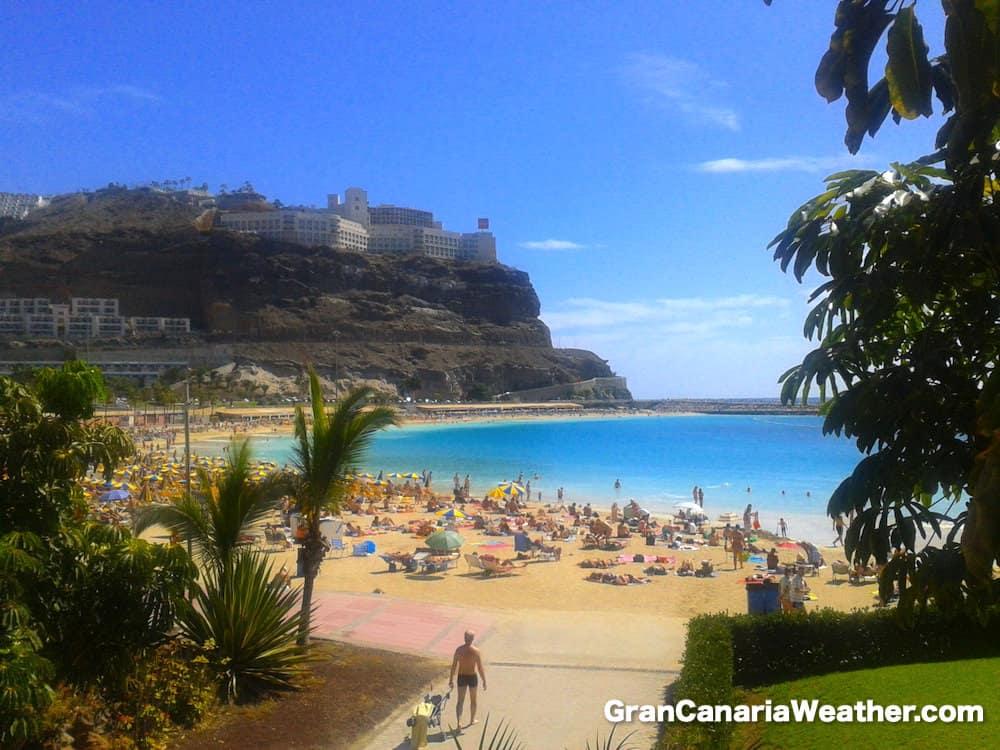 Gran Canaria Weather February Amadores Beach 2013