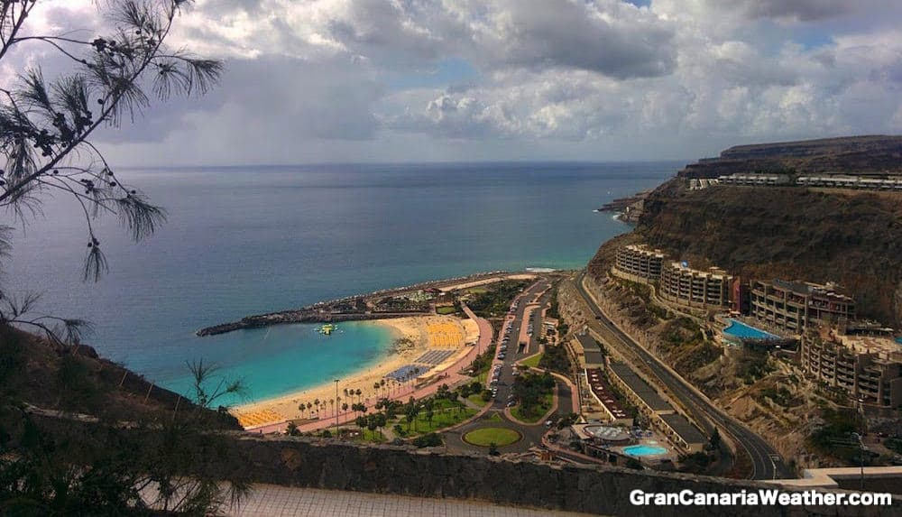 Gran Canaria Weather February Amadores Beach 2016