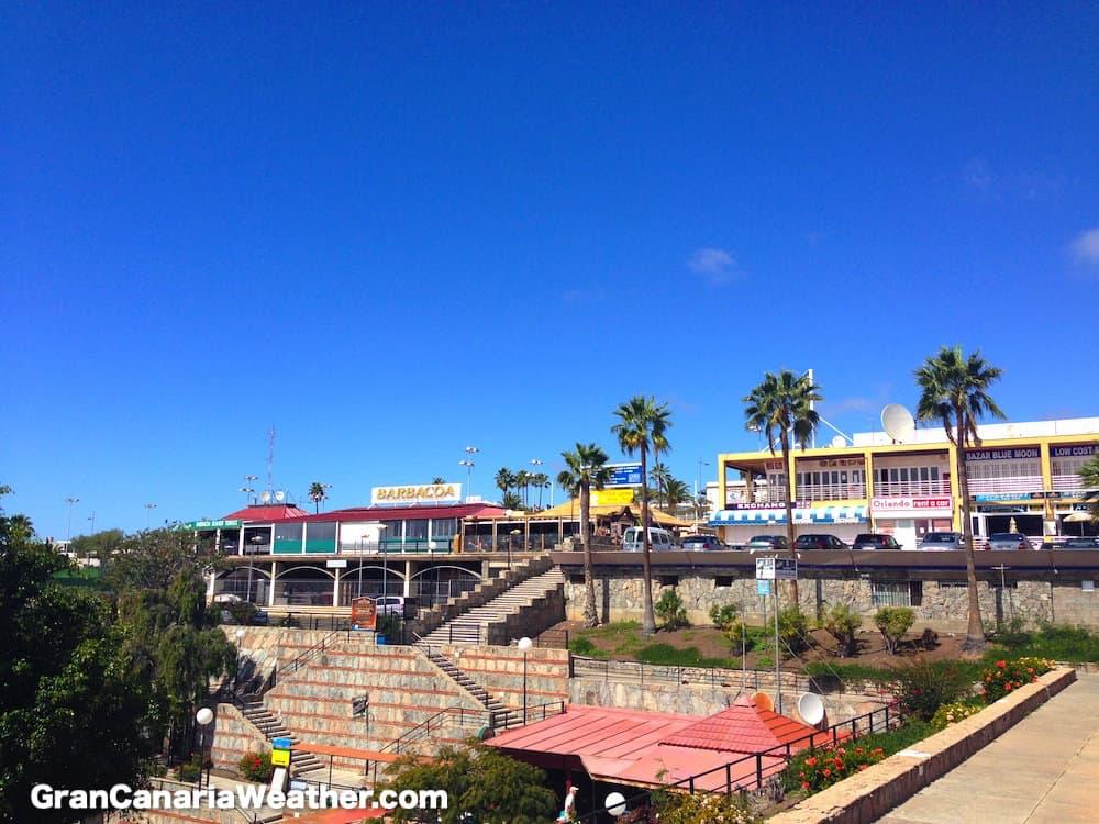 Gran Canaria Weather February Europa Center Puerto Rico 2016