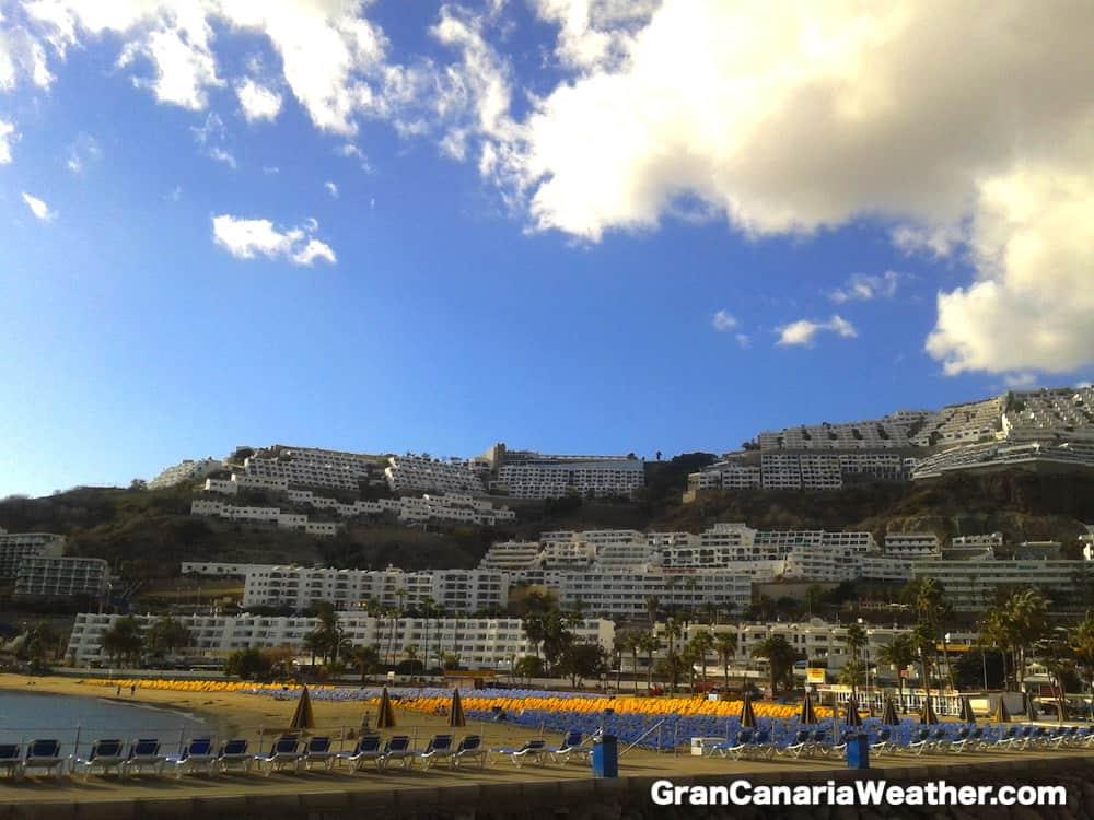 Gran Canaria Weather February Puerto Rico 2012
