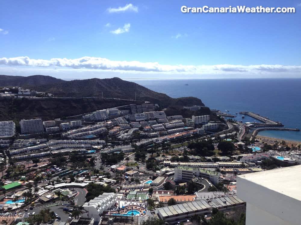 Gran Canaria Weather February Puerto Rico 2014