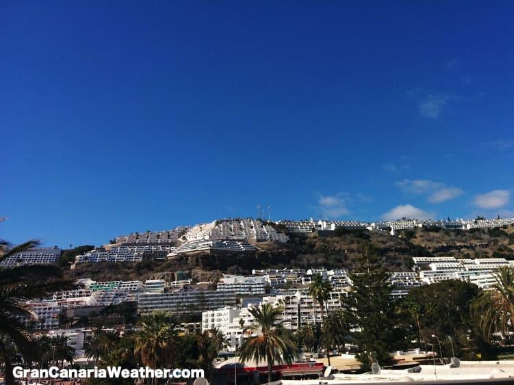 Gran Canaria Weather February Puerto Rico 2015