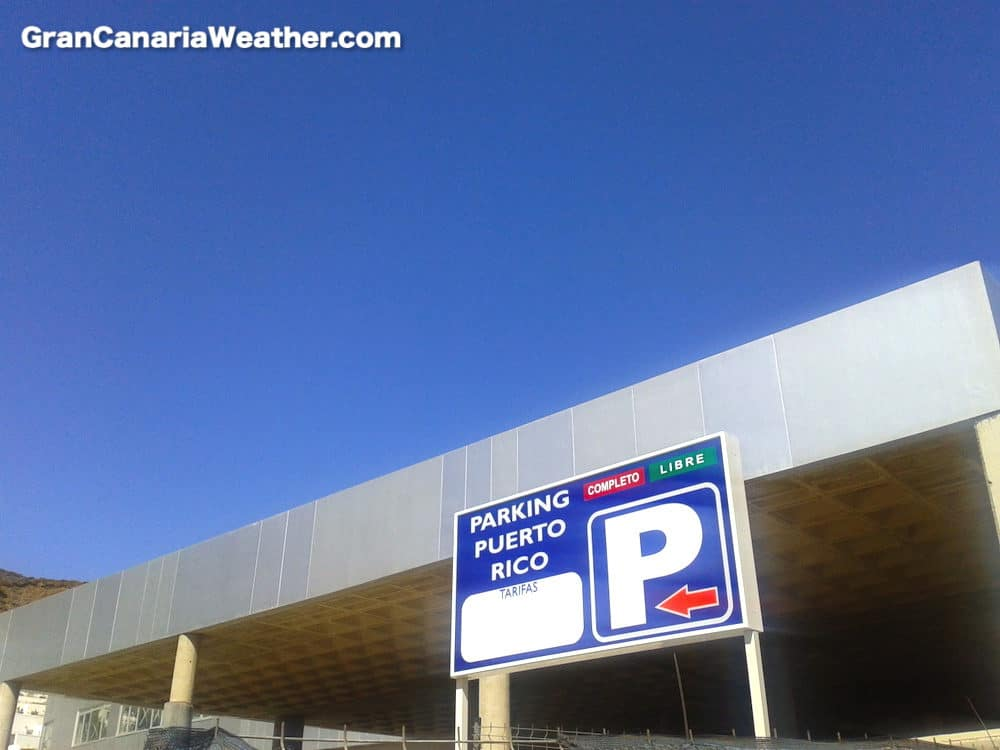 Gran Canaria Weather February Puerto Rico Parking 2012