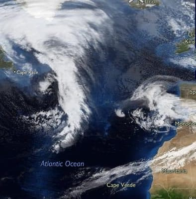 Gran Canaria Weather November Tropical Storm Andres 2010