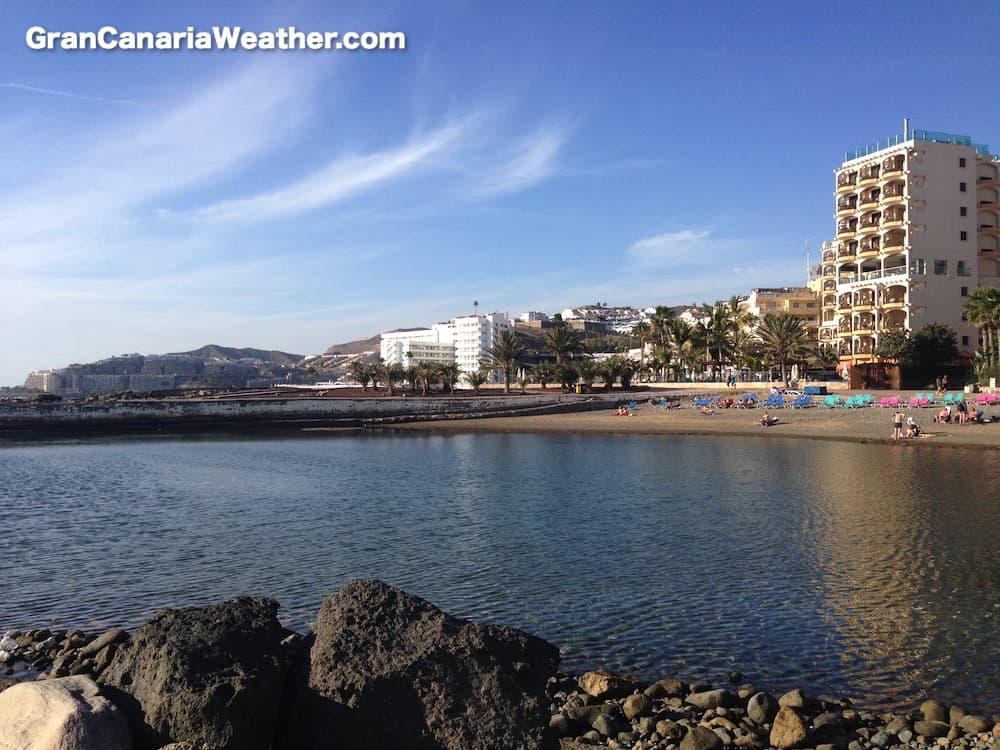 Gran Canaria Weather February Arguineguin La Lajilla Beach 2016