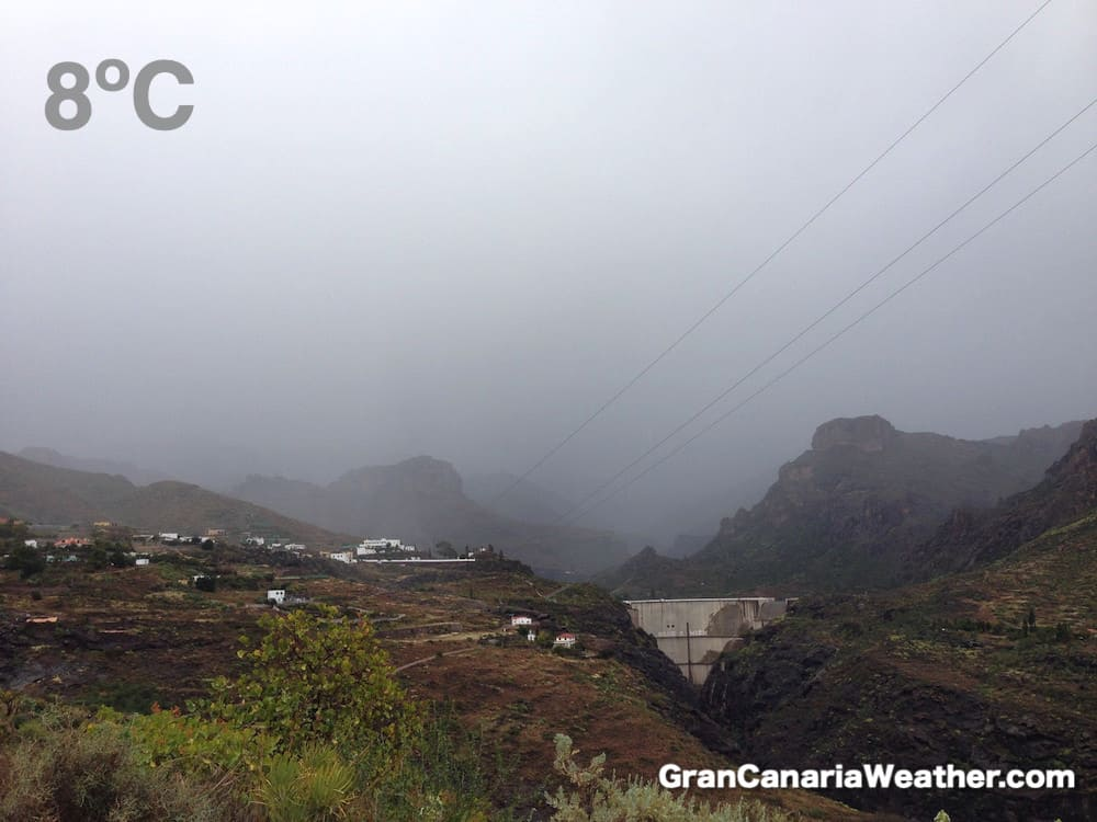 Gran Canaria Weather February Soria 2016