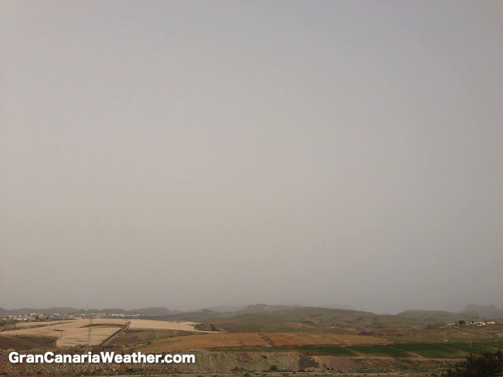 Gran Canaria Weather January Calima 2015