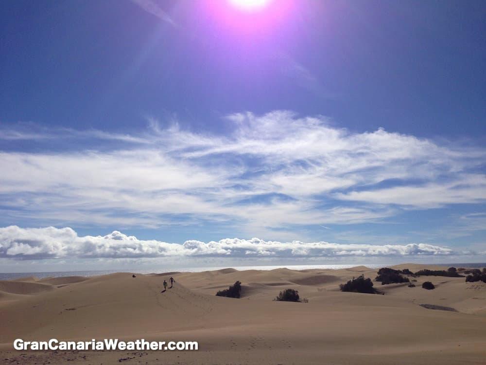Gran Canaria Weather January Maspalomas Dunes 2016