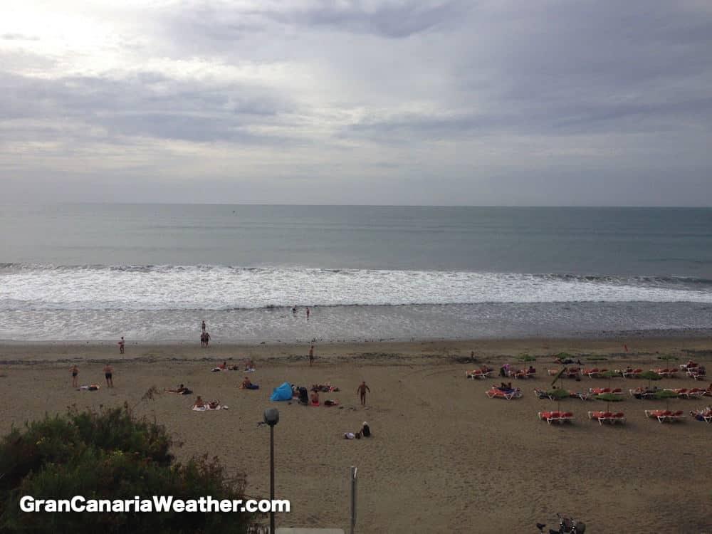 Gran Canaria Weather January Meloneras Beach 2016
