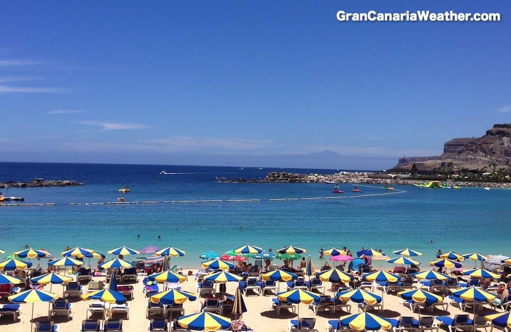 Gran Canaria Weather June Amadores Beach 2014