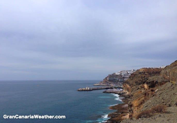 Gran Canaria Weather February Mogan Coastline 2016