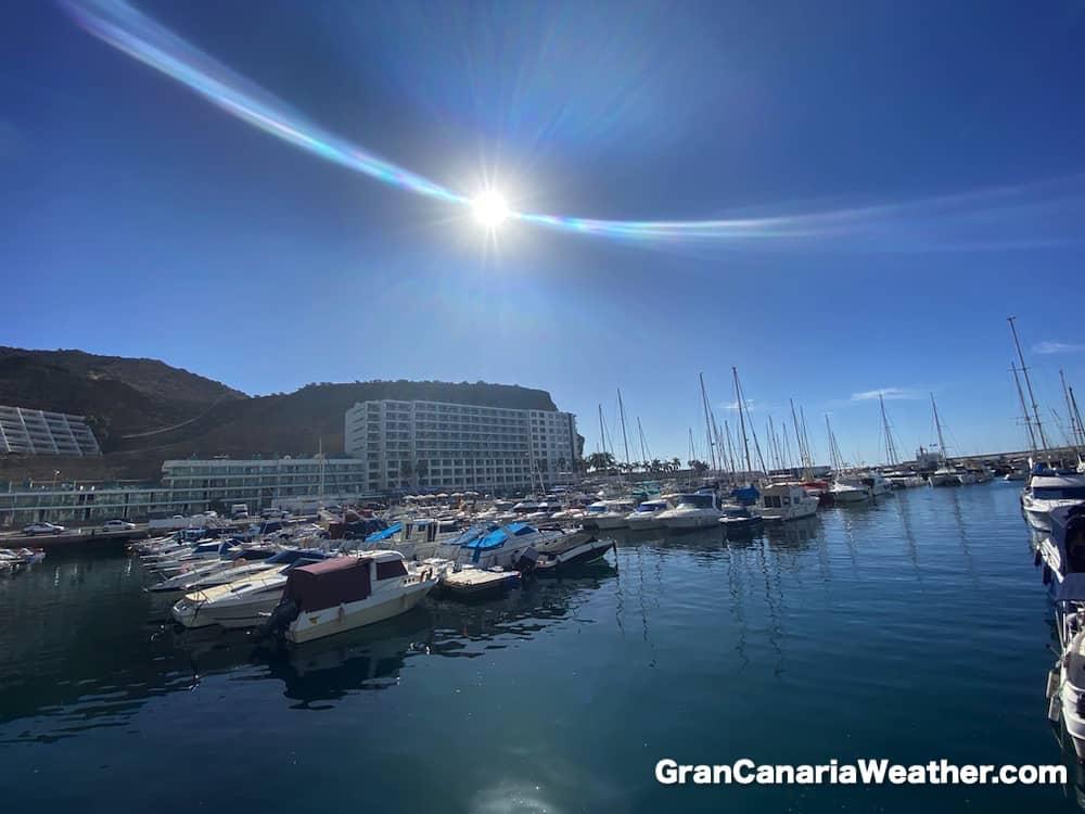Gran Canaria Weather November Puerto Rico Harbour 2019