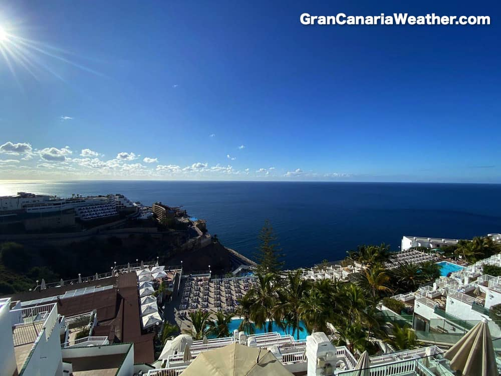 Gran Canaria Weather January Puerto Rico Altamar 2020
