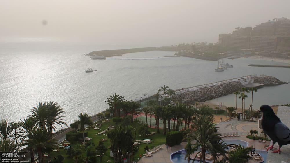 Gran Canaria Weather February Calima Arguineguin 2020