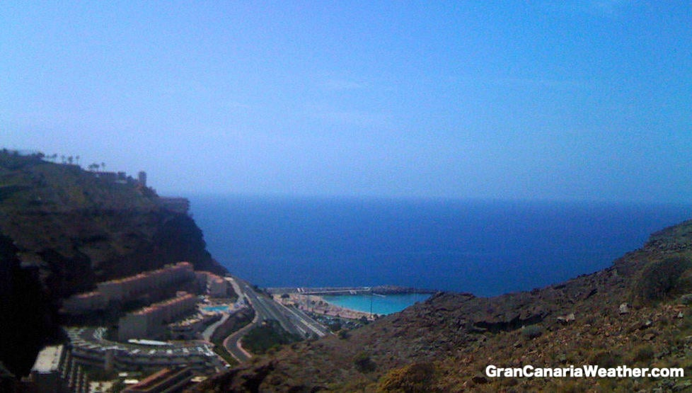 Gran Canaria Weather March Altamadores 2011
