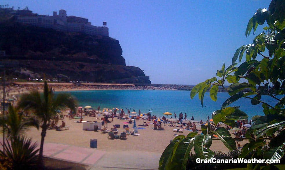 Gran Canaria Weather March Amadores Beach 2011