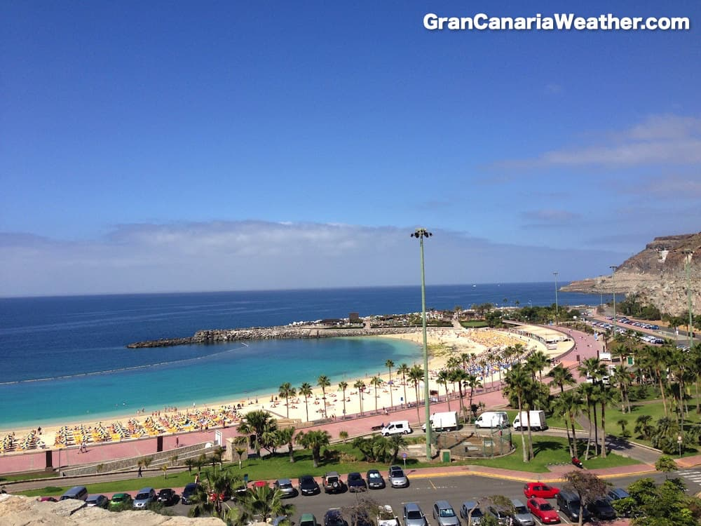 Gran Canaria Weather March Amadores Beach 2014