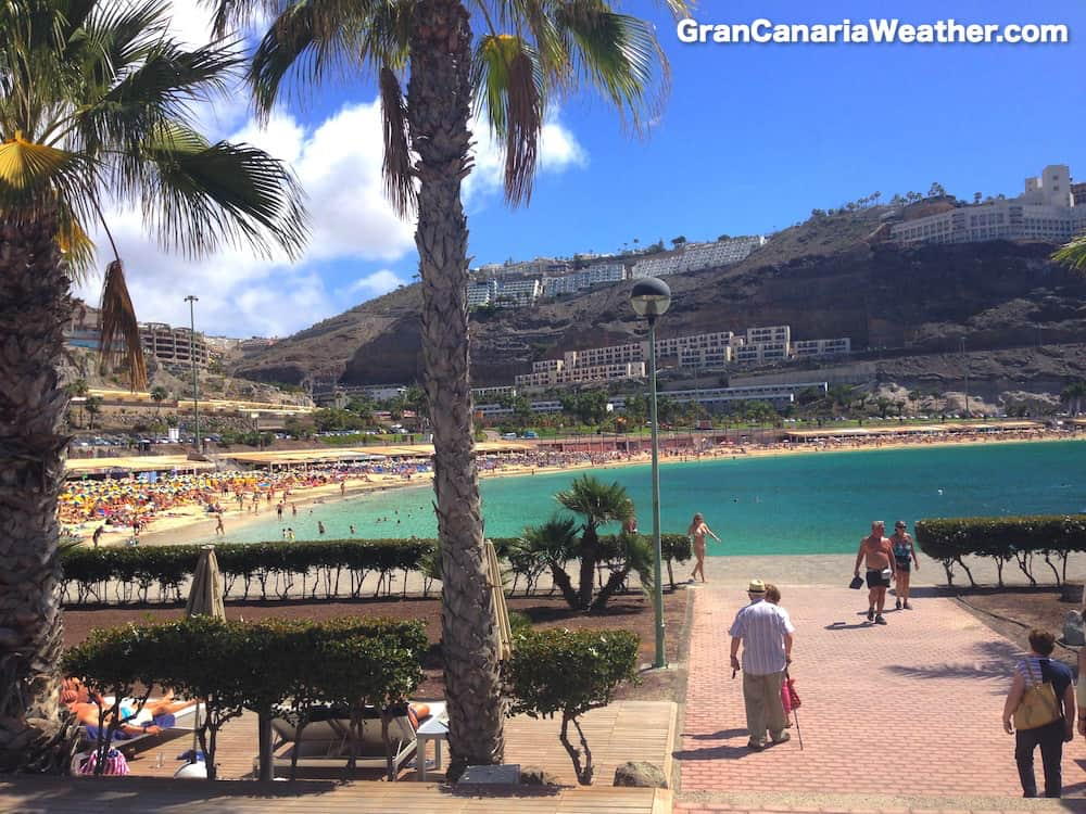 Gran Canaria Weather March Amadores Beach Puerto Rico 2016