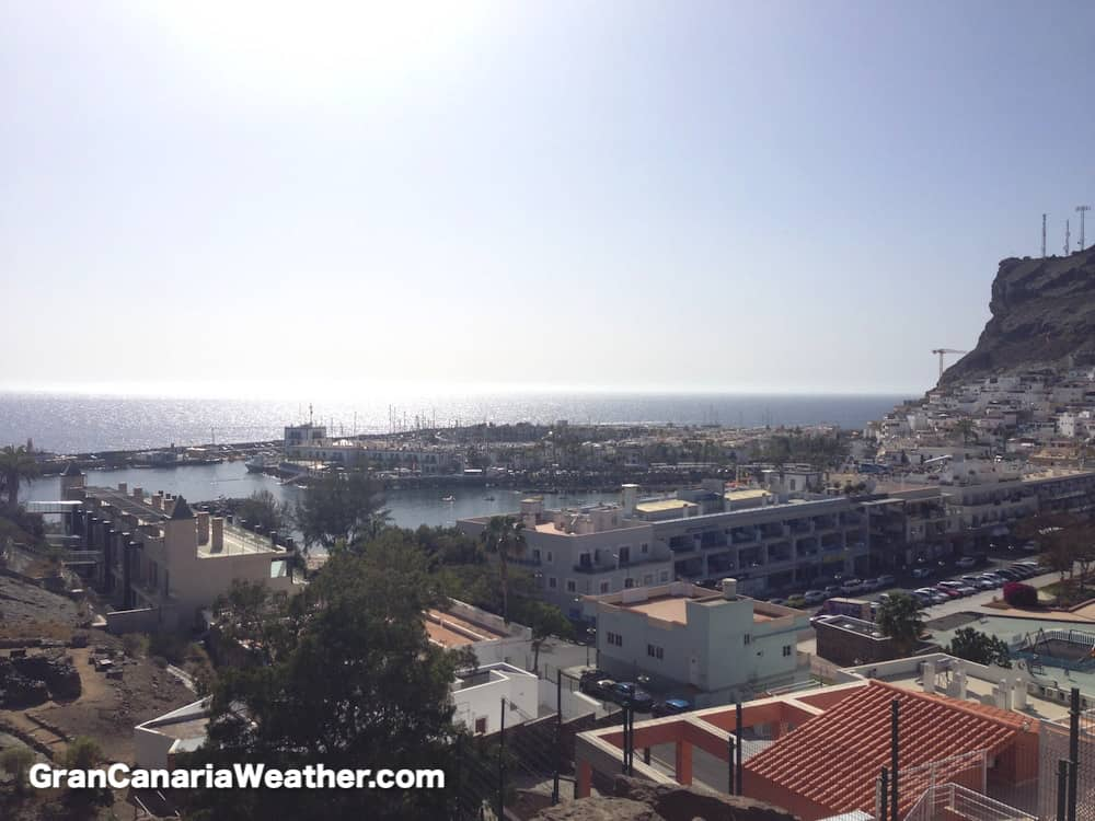 Gran Canaria Weather March Puerto de Mogan 2015