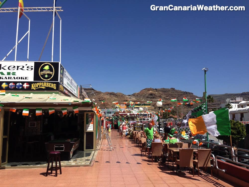 Gran Canaria Weather March Puerto Rico St Patricks Day 2014
