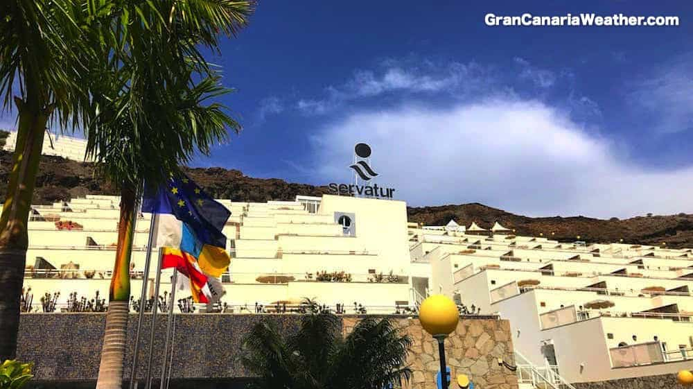Gran Canaria Weather March Servatur Terrazamar Sunsuites Puerto Rico 2017