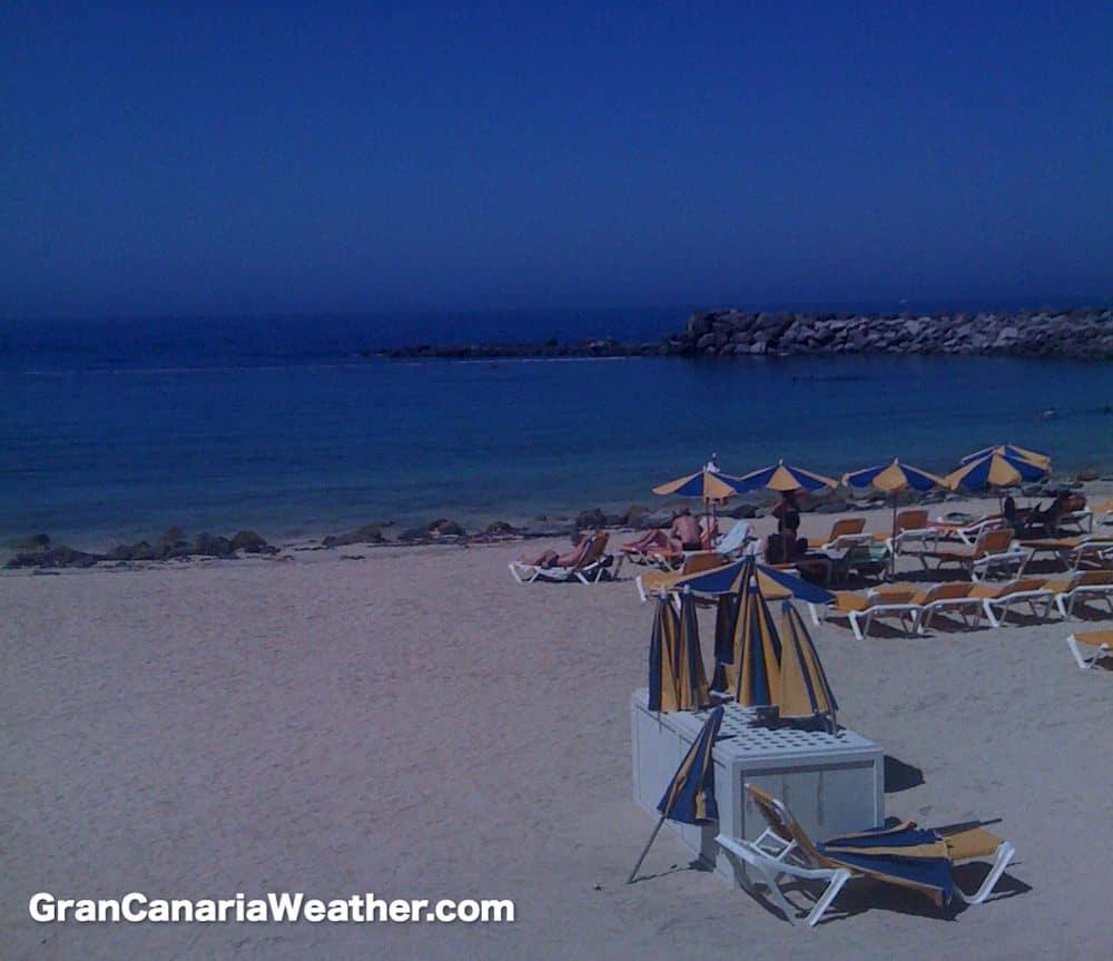 Gran Canaria Weather June Amadores Beach 2011
