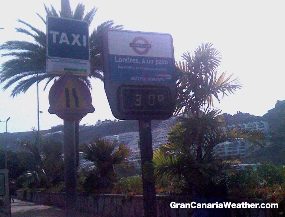 Gran Canaria Weather June Puerto Rico Temperature 2011