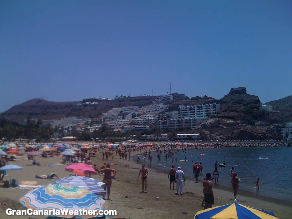 Gran Canaria Weather June Puerto Rico Beach 2011
