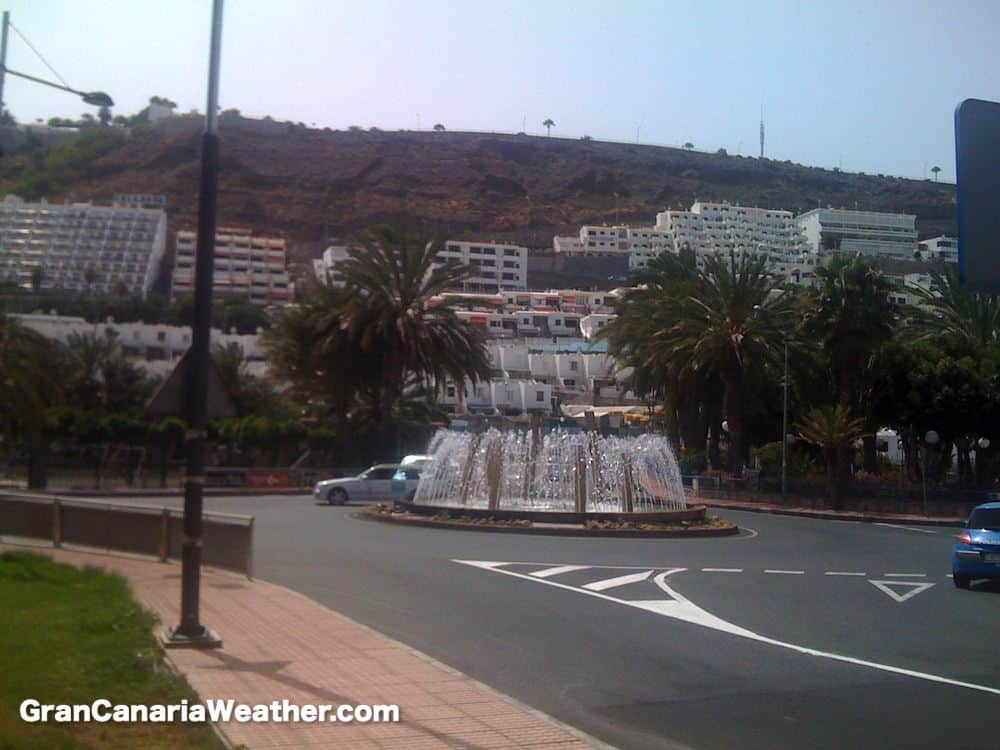 Gran Canaria Weather June Puerto Rico Roundabout 2011