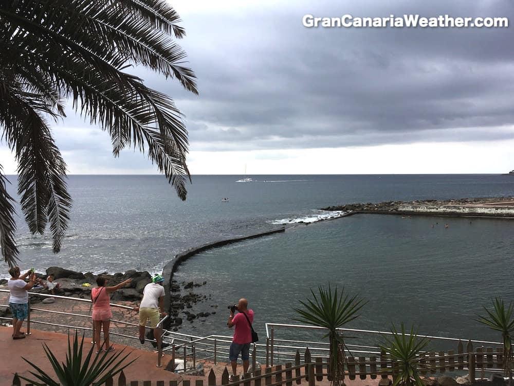 Gran Canaria Weather October Arguineguin La Lajilla Beach 2016