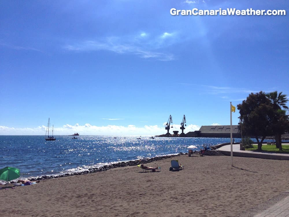 Gran Canaria Weather October El Pajar 2015
