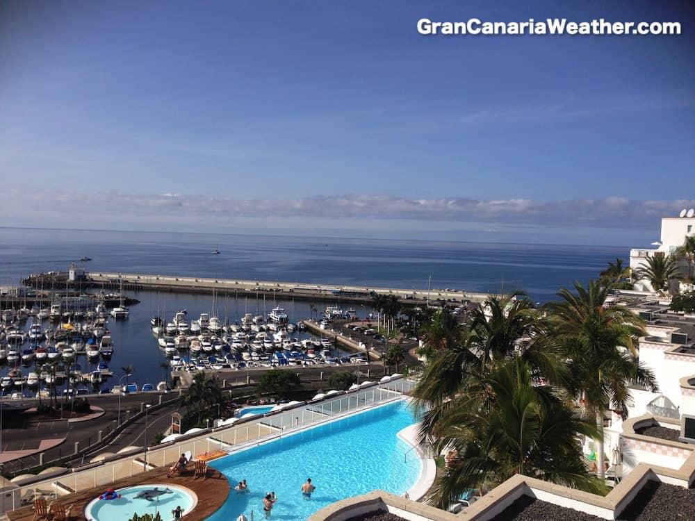 Gran Canaria Weather October Marina BayView Puerto Rico 2013