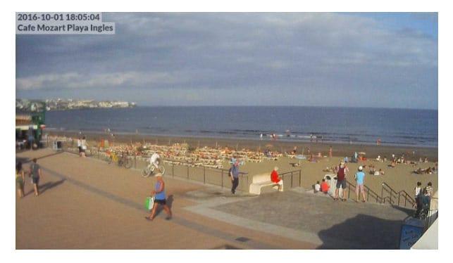 Gran Canaria Weather October Playa del Ingles 2016