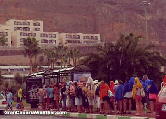 Gran Canaria Weather October Puerto Rico Amadores Rain 2012