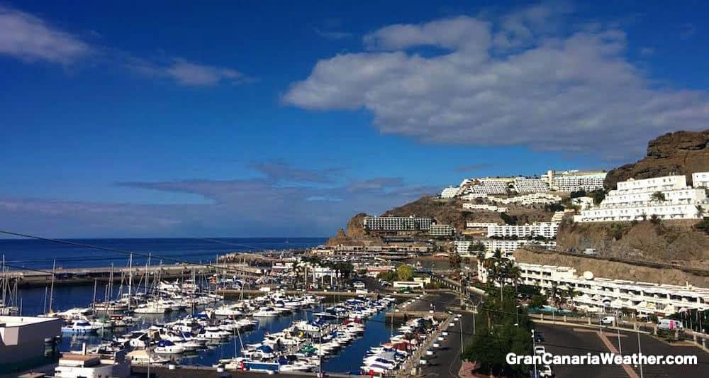Gran Canaria Weather October Puerto Rico Harbour 2015