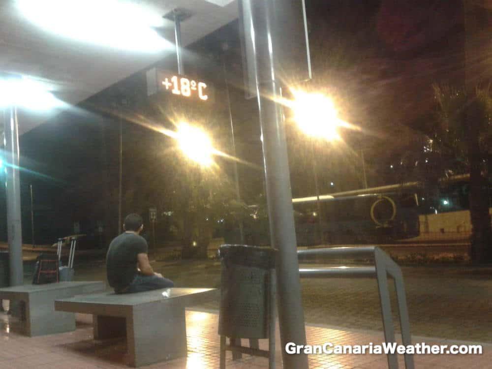 Gran Canaria Weather October Puerto Rico Morning Temperature 2012