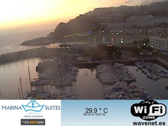 Gran Canaria Weather October Puerto Rico Webcam 2010
